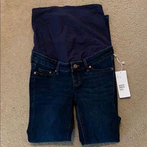 Maternity jeans full panel